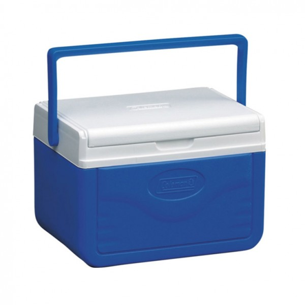 Mini ice chest 4.7L in blue and white